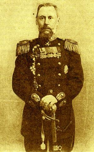 Командир эскадренного броненосца