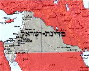 Великий Израиль от Нила до Ефрата