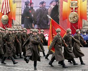 Парад на Красной площаде 7 ноября