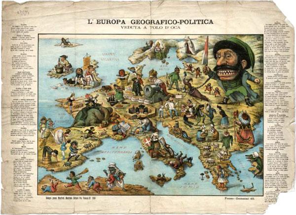EUROPA GEOGRAFICO-POLITICA