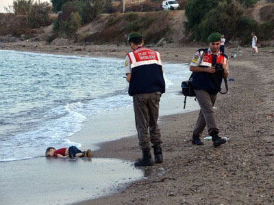 Утонувший ребёнок из Сирии