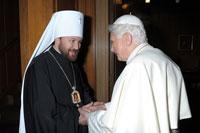 Митрополит Иларион (Алфеев, председатель Отдела внешних церковных связей МП)