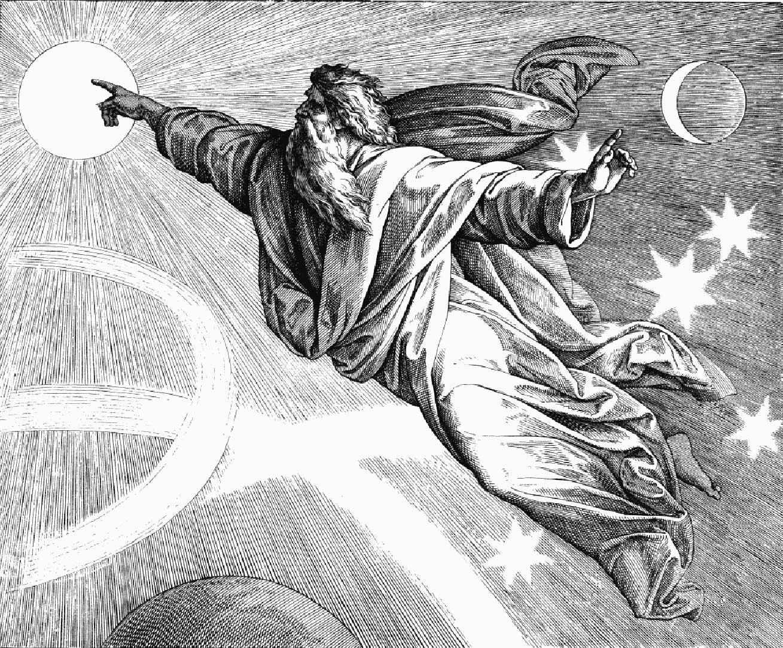 Юлиус Шнорр фон Карольсфельд. Сотворение мира