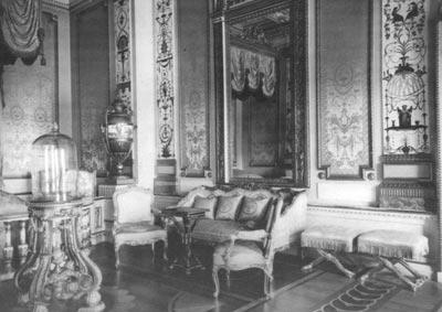 Гатчинский дворец. Парадная опочивальня