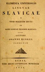 Cover of: Elementa universalis linguae Slavicae e vivis dialectis eruta et sanis logicae principiis suffulta by János Herkel