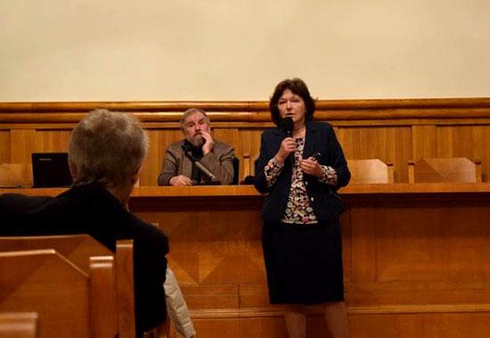 Организатор конференции – проф. Ханна Ковальская-Стус, заведующая кафедрой византийско-православной культуры