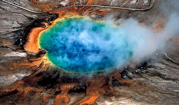 Йеллоустоунский вулкан