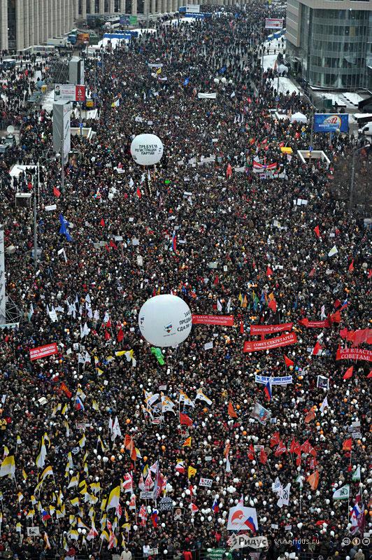 Митинг на просп. Сахарова 24.12.2011