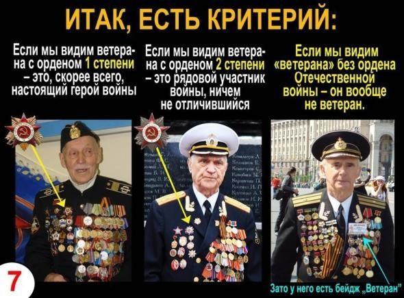 Фальшивые ветераны