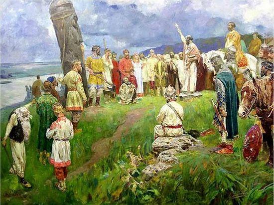 Станислав Бабюк. Свержение Перуна. Начало христианства