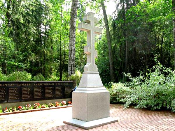 Памятник ветеранам, умершим на Валааме
