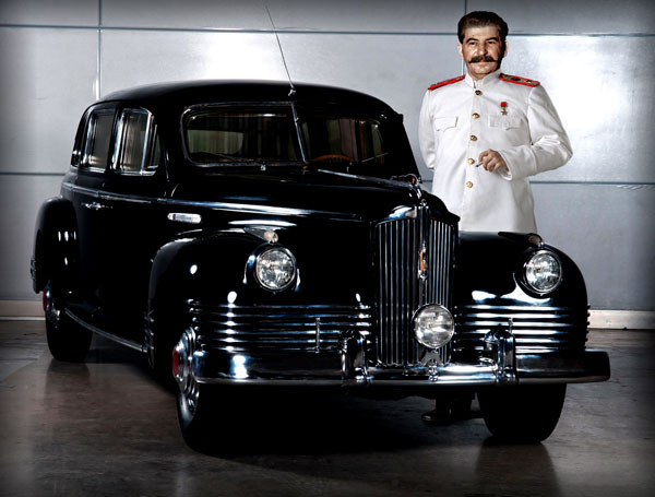 Сталин со своим автомобилем