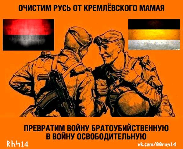Очистим Русь от кремлёвского Мамая