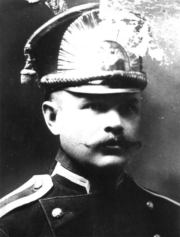 Отчим моего отца Афанасий Игнатьевич Пахомов во время Первой мiровой войны