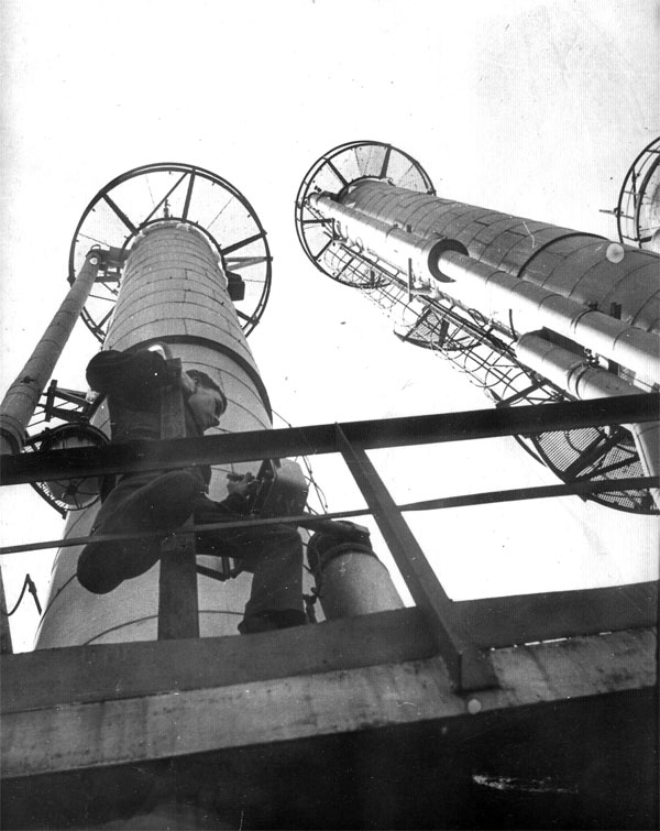 Невинномысский химкомбинат, цех 1А. 1967-68 гг.