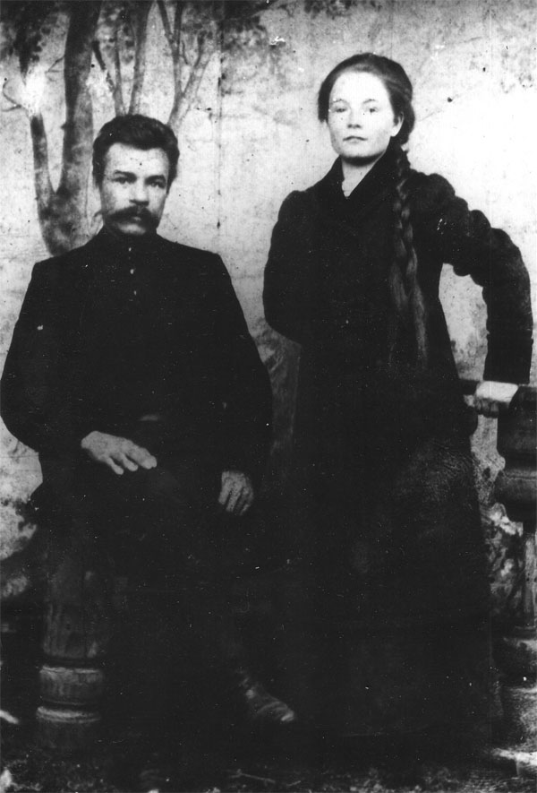 Бабушка В.П. Рузина с отцом Павлом Яковлевичем Рузиным