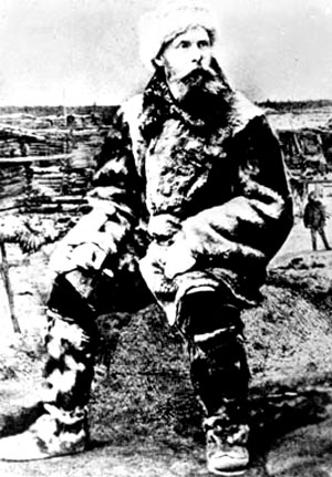 Руководитель экспедиции барон Э. В. Толль