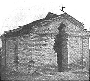 Первый храм-часовня в крепости
