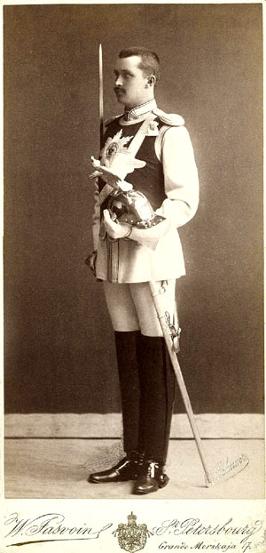 Маннергейм во время коронации Николая II