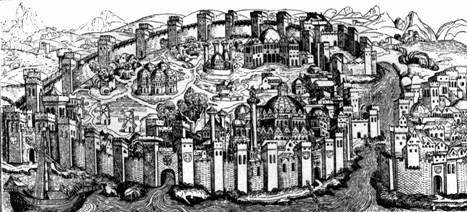Константинополь. Из немецкой летописи 1493 г.