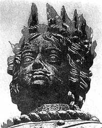 Б.-К. Растрелли. Конная статуя Петра I, 1744
