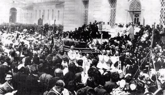 Саровские торжества 1903 г. Перенесение мощей преподобного Серафима