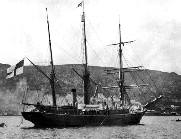 Шхуна «Заря» в Норвегии. 1899 г.