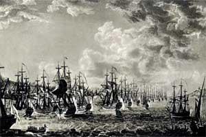 Эскадра адмирала Ушакова на Константинопольском рейде