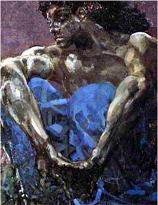 художник Михаил Александрович Врубель. Демон. 1890