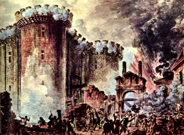 Французская революция. Взятие Бастилии