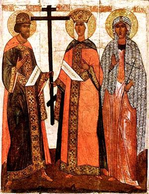 Обретение Честного Креста святой царицей Еленой во Иерусалиме