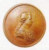 Памятная медаль в честь присоединения Крыма к России с изображением Г. А. Потёмкина Таврического 1783 г.