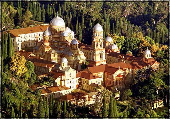 Новоафонский монастырь: русская обитель на абхазской горе