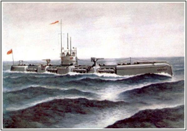 Царская подводная лодка «Пантера» в составе советского Флота