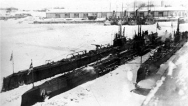Подводный флот Николая II. Подводные лодки типа «Барс». 1915 г.