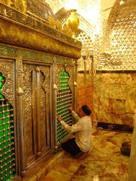 Гробница пророка Даниила в Сузах (Иран)