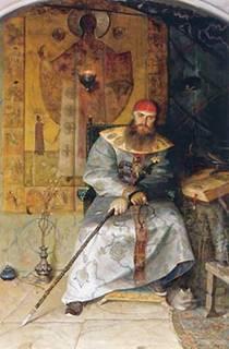 Царь Алексей Михайлович. Картина Павла Рыженко