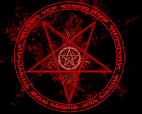 Окультнае сатанинские символы