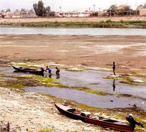 ИГ закрыло шлюзы плотины в Рамади. Прекращена подача воды в города Ирака