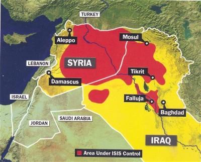 Халифат XXI века. Территория ИГИЛ