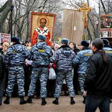 2008: Крестный ход несмотря на запрет и разгон состоялся!