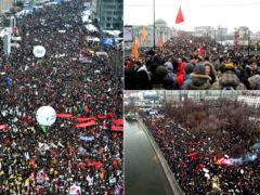 Заявление Московского отдела Союза Русского Народа о нарастающем протестном движении граждан РФ