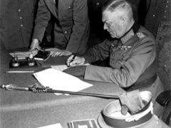В Берлине подписан акт о капитуляции Германии