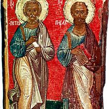 Свв. первоверховных апостолов Петра и Павла