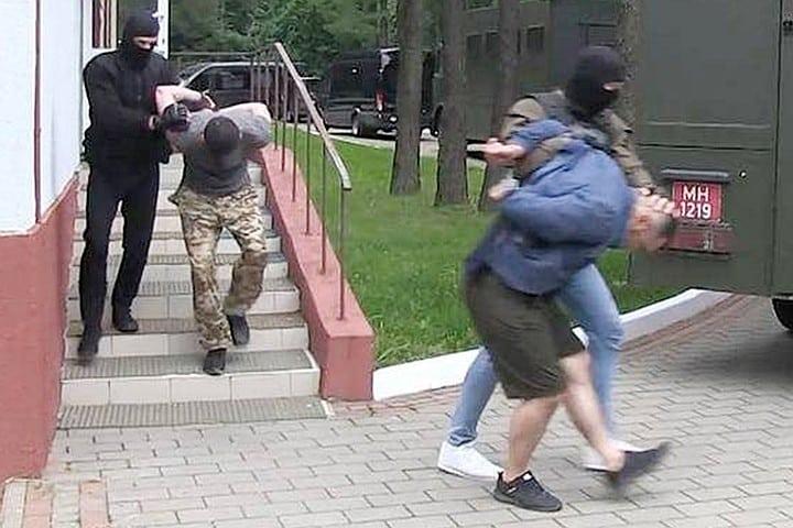 Арест ЧВК Вагнер в Минске