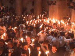 О Благодатном огне на Гробе Господнем в Великую Субботу