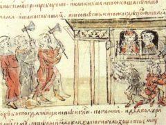 Мчч. Феодор варяг и сын его Иоанн – Первые на Руси мученики за Христа