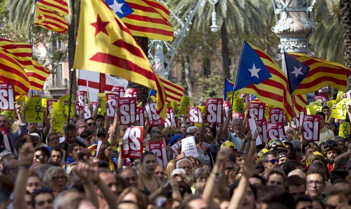 Каталония - референдум за отделение от Испании