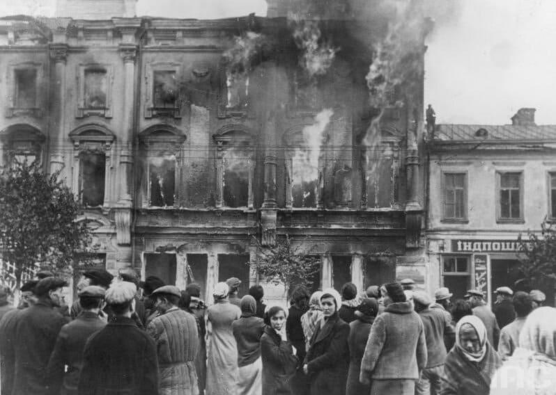 Зачем НКВД взорвало Киев?