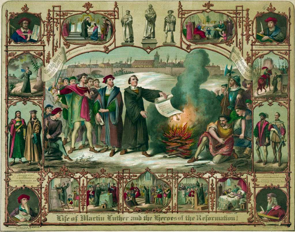 Мартин Лютер и герои реформации